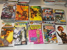 Lot of 50 Different Movie Tv Comics Predator Gijoe Buffy Trek Star Wars Grab Bag