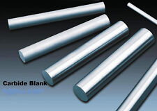 """Round Solid Carbide Rod End Mill Blank Bar 3/8 Diameter x 6.00"""" Length .375 x 6"""