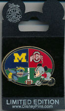 DISNEY WDW STITCH MICKEY Rivalry Weekends MICHIGAN vs OHIO LE 1000 Pin New Card