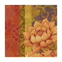 Bohemian Flower Tapestry Handmade DIGITAL Counted Cross-Stitch Pattern Chart