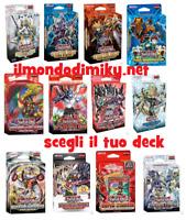 YU-GI-OH! DECK vari Mazzi tutti in ITALIANO - Nuovi-Scegli il tuo deck dal men