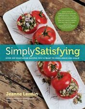 Simply Satisfying : Over 200 Vegetarian Recipes....New, Free Shipping