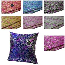Pillow Cover*Chinese Rayon Brocade Throw Seat Pad Cushion Case Custom Size*Ba6