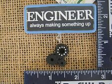 Cannon Falls Engineer Always Making Something Up Sign With Gears & Cogs Ornament