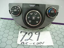 10 11 12 13 Kia Soul AC and Heater Control Used Stock #729-AC