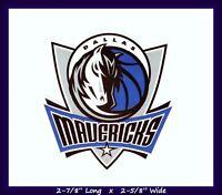 DALLAS MAVERICKS BASKETBALL NBA DECAL STICKER TEAM LOGO~BUY 1 GET 1 35% OFF