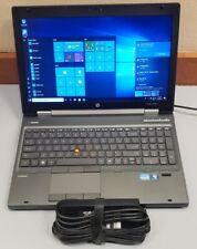 HP WORKSTATION 8560W Core i7-2670QM 16GB RAM 500GB WEBCAM BLUETOOTH 1920x1080