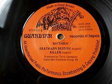 "Mythra – Death And Destiny - UK 1979 NWOBHM 7"" NM Orig Guardian 1st press NM"