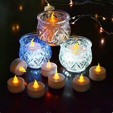 6pcs Flameless LED Candles Flickering Tea Lights Wedding Party Decor Wholesale
