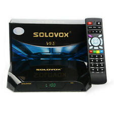 Solovox V9S 1080P HD FTA Satellite Receiver build in wifi,Replace Skybox Openbox