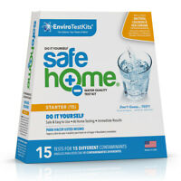 Safe Home STARTER 15 Drinking Water Test Kit (DIY Testing)