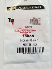 Genuine OEM Tecumseh Power 35865 Exhaust Gasket *Fast Free Shipping*