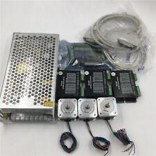 Nema17 3Axis Stepper Motor Driver CNC Kit 0.2Nm 0.4A &Power Supply & 5Axis Board