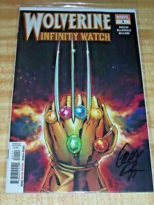Wolverine: Infinity Watch #1! (2019) Signed by Writer Gerry Duggan! NM! COA!