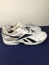 Reebok Neche DMX Ride Men's Sz 15 4E White Leather Walking Shoes