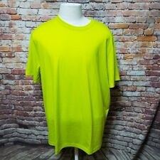 FILA MEN'S POLYESTER BLEND PERFORMANCE BASIC CREW-NECK T-SHIRT SIZE XXL  B04-25