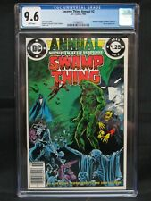 Swamp Thing Annual #2 (1985) Key 1st Justice League Dark CGC 9.6 JD02