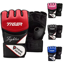 TMA MMA Gloves Grappling Muay Thai Punching Training Martial Arts Sparring