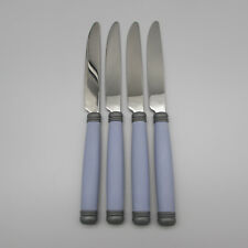 SET OF FOUR - Pfaltzgraff Stainless MYSTIC Dinner Knives *