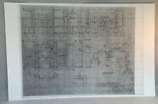 "Dark Shadows Blueprint 11""X17"" GLOSSY PRINT- OLD HOUSE  -BONUS GIFT"