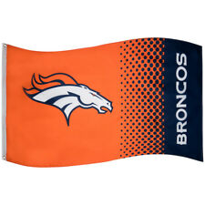 Forever Collectibles Denver Broncos fade Flag Flagge Fahne NFL