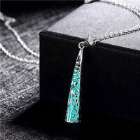 Jewelry Hollow Locket For Men Women Luminous Necklace Hollow Tower Pendant
