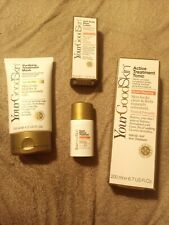 Your Good Skin acne Bundle, mask, tonic, lotion, and treatment new unopened