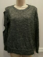 LNA CLOTHING MADE IN USA CUT OUT SWEATSHIRT RAYON SPANDEX SIZE SMALL MAKE OFFER