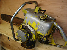 IEL I.E.L CHAINSAW HM COLLECTORS OLD TIME ANTIQUE SAW WITH BAR CHAIN