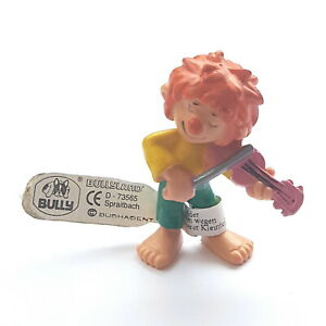 Figurine Collection Pumuckl Bully 1983 Pumuckl Plays Violin 2in + Tag