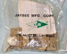 Vintage Brass Finish Shutter Hinge Kit Jaybee Mfg. Usa made 8 hinges