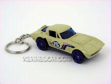 Custom Keychain Chevrolet  Corvette Grand Sport Tan