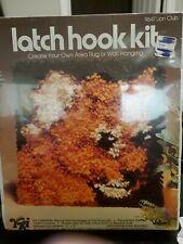 New listing Latchhook Kit 9647 Lion Club 12x12