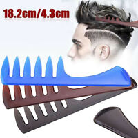 Professional Men Wide Tooth Comb Salon Barber Hairdressing Styling Hair Brush Ho