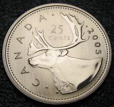 RCM - 2005-p - 25-cents - Caribou - SPECIMEN - Uncirculated