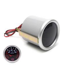52mm Water Temp Gauge Celsius Analog Car LED Temperature Indicator Meter 1pcs
