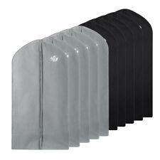 "10 Pack 40"" Garment Bag Suit Storage Cover Dress Clothes Coat Dust Protector"