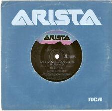 """MEAT LOAF MEATLOAF - ROCK 'N' ROLL MERCENARIES - 7"""" 45 VINYL RECORD 1986"""