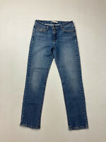 LEVI'S SKINNY FIT MID RISE Jeans - W30 L32 - Blue - Great Condition - Women's