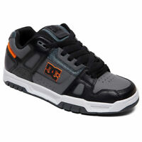DC Shoes Men's Stag Low Top Sneaker Shoes Gray/Black/White (xskw) Footwear Skate