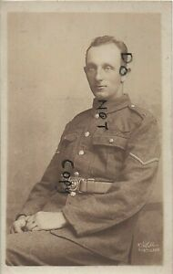 WW1 Soldier P J King Royal Marine Engineers Portslade photographer