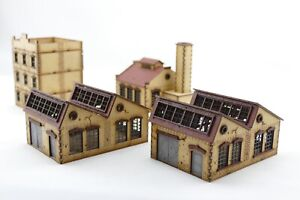 """Fabrik-Set """"A"""", für 15 mm Tabletop, z.B. FOW /Factory Set for 15 mm Tabletop"""