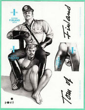 Erotic Gay Stamps World First Masculine Sheet Tom of Finland MNH Stamps 2014