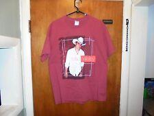 Brad Paisley : 2005 World Tour T Shirt Large Size ( L ) Red