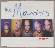 C.D.MUSIC E980  THE MAVIS'S  CRY  3 TRACK  SINGLE  CD