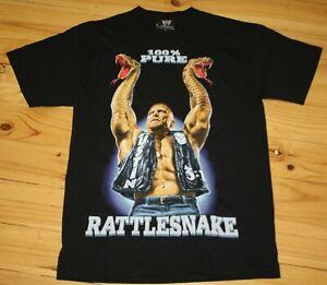 2010 WWE Stone Cold Steve Austin Rattlesnake T-Shirt - Size Medium