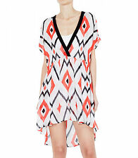 Sass & Bide Asymmetrical Hem Regular Size Dresses for Women