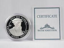 *** 5000 Forint Gedenkmünze UNGARN 2009 Kalvin Janos PP mit Zertifikat Silber **
