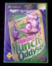 Oddworld: munch's Oddysee (Microsoft Xbox, 2002, DVD-box)