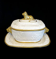 Reduced $100 to $399 now with Free Shipping: Superb Mottahedeh Lion Tureen S4196